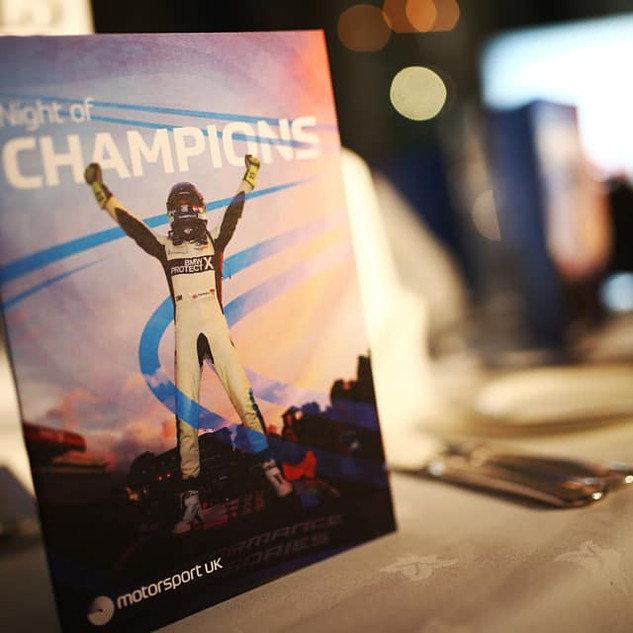 Night of Champions Booklet