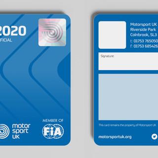 Official's Membership Card