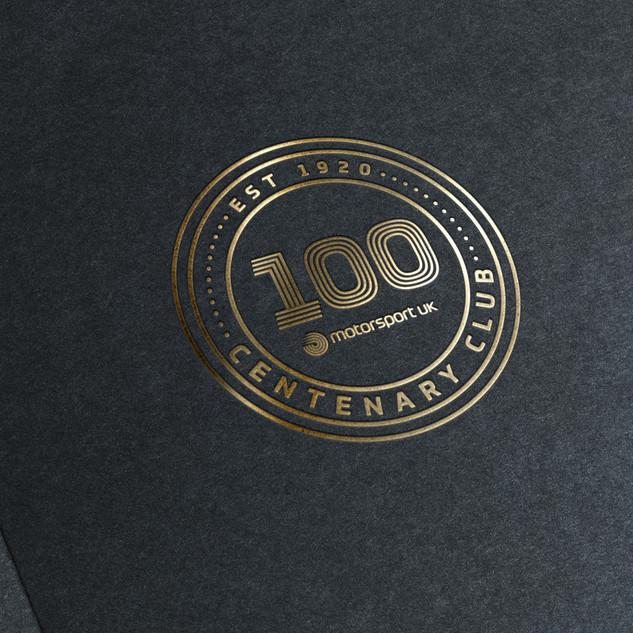 Motorsport UK Centenary Logo