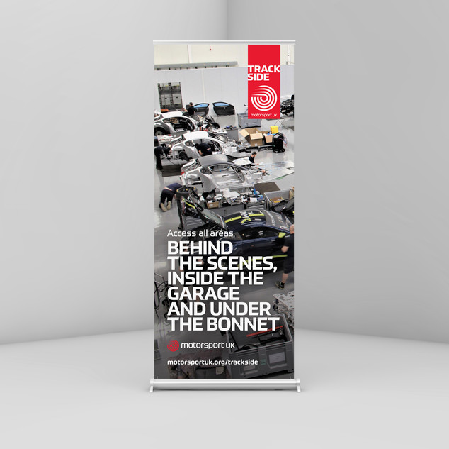 Pull Up Banner for Autosport International Show