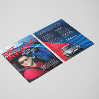 Double sided flyer