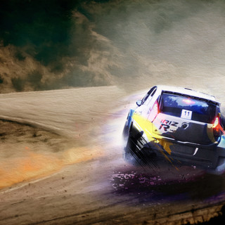 Conwy Cambrian Rally Illustration
