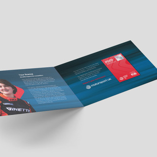 Competitor 2020 Licence Card Holder