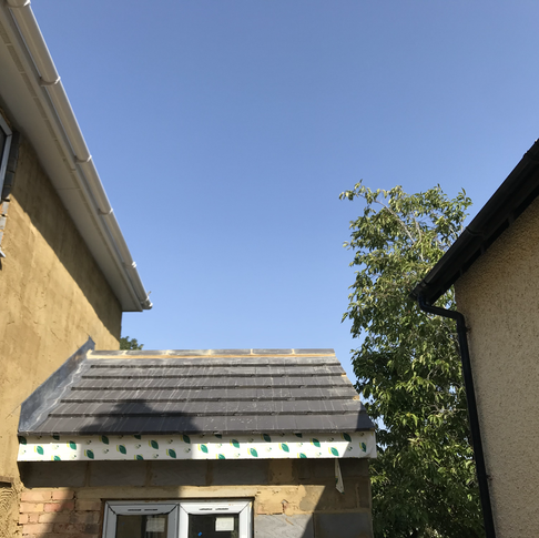 New Roof, Lead Work and Windows