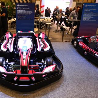 Autosport International Exhibition Signage Kart Plynths Design