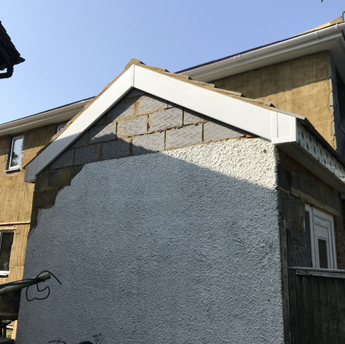 New Roof and Fascia