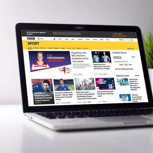 BBC Sport Webpage