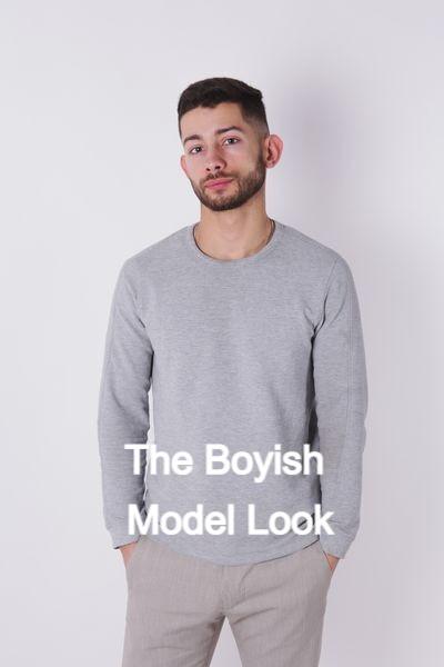 Boyish Looks For The Modelling Industry!
