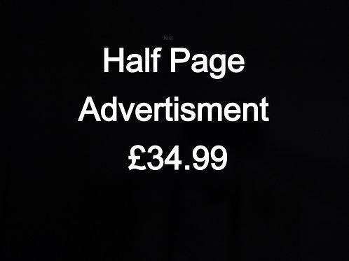 Half Page Advert