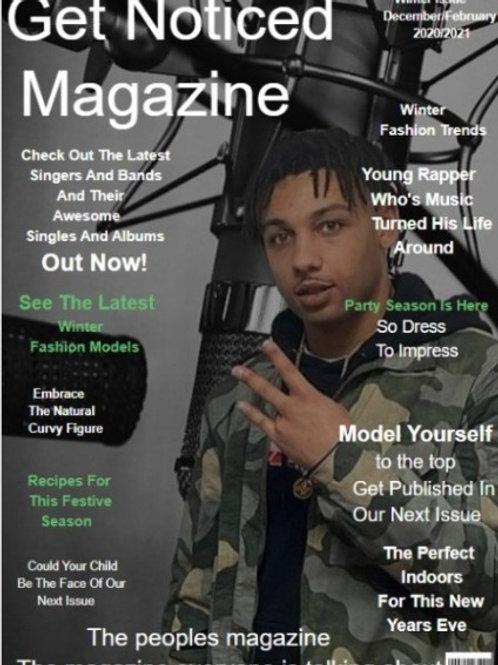 Winters Printed  Magazine