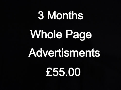 Whole page Advert