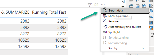 r/PowerBI - DAX: Calculate Running Total for Past N Days, excluding the days that do not match criteria.