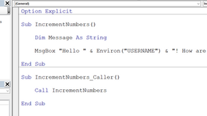 Option Private Module in VBA - Prevent users from accessing sub-routine or functions.