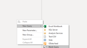 Create a Date table in Power Query with M code