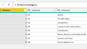 Dynamically change column names in Power Query using predefined values