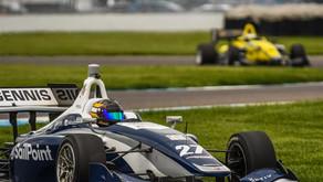 Megennis Wins Race 1 In Indy Lights