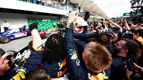 Verstappen Wins Brazilian Grand Prix In Wild Finishing Order
