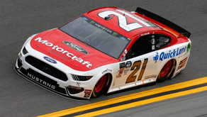 Toyota's Shine In 1st Cup Practice Friday, Ford's Quick In 2nd