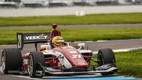 VeeKay Goes Wire To Wire In Indy Lights Victory At Indy