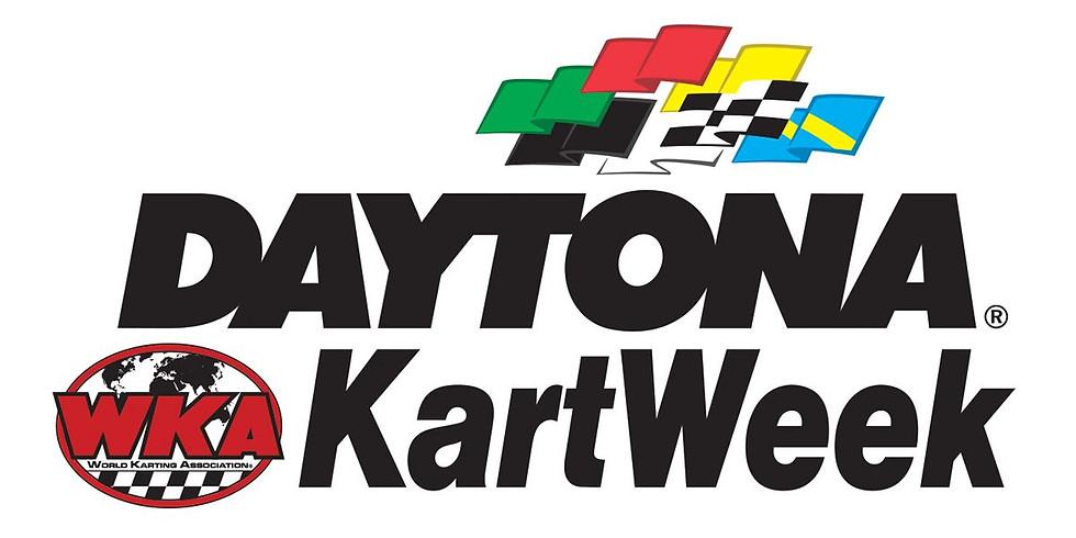 Daytona Kartweek- WKA Manufacturers Cup Series
