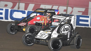 """Larson Gets Chili Bowl Redemption In Victory Saturday """"I'm sorry NASCAR, I'm sorry Daytona, but this"""