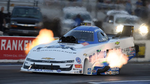Ladders Set In St. Louis, Force Earns Funny Car Top Spot With Salinas In Top Fuel