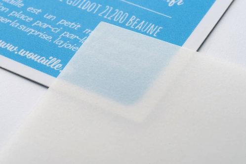 Cartes sur CALQUE Curious Translucents 230 grs