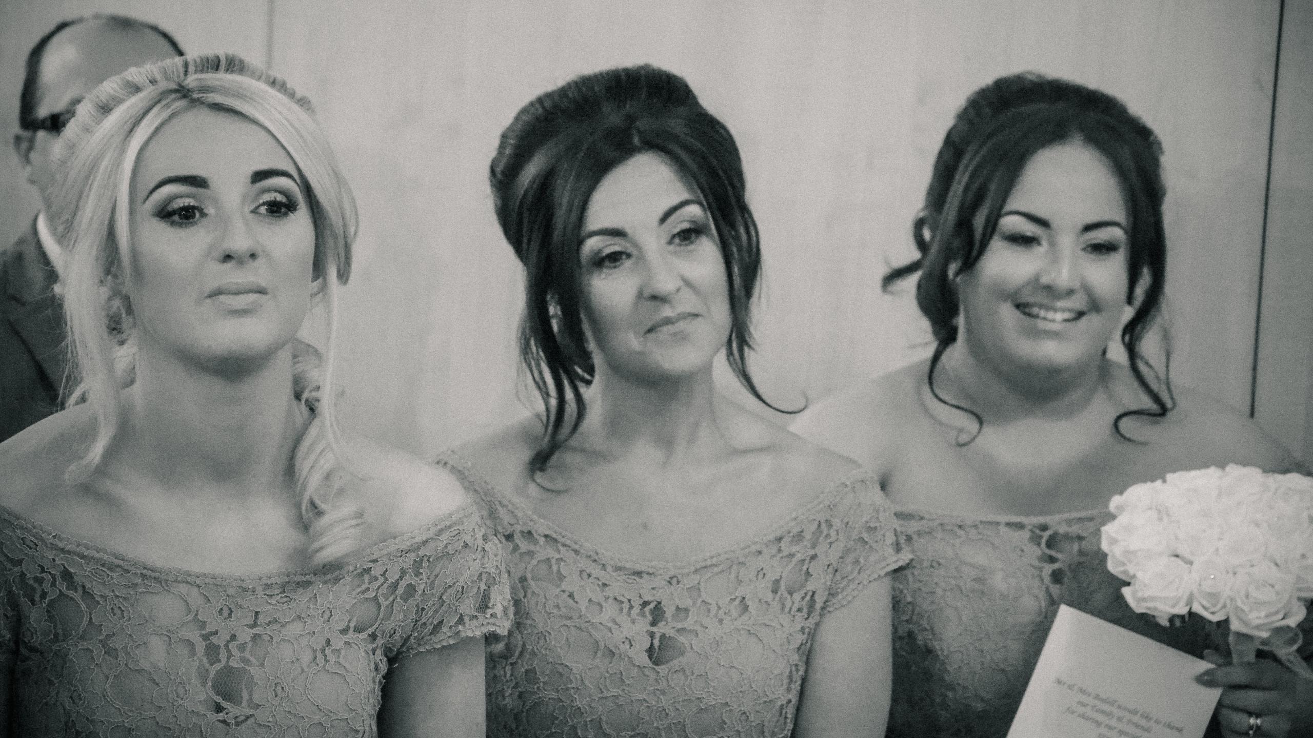 Beautiful bridemaids