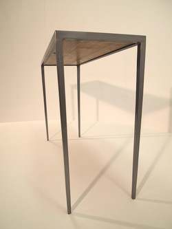 Console table - Steel / Oak