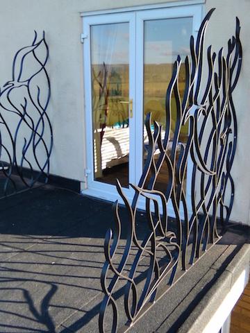 Bird balcony panels