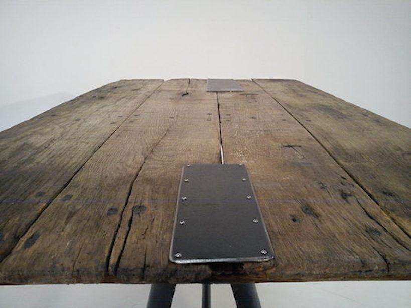 Edwinson Green - oak bench