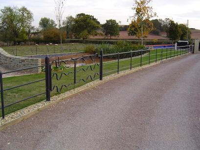 Wavy gates & railings