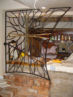 Panels for Golden Cross pub