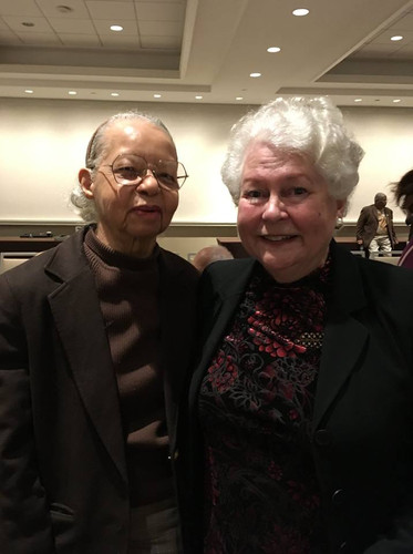 Here is Mildred Roxborough, who is an activist and Special Assistant in the NAACP's New York office and who did more wonderful things than can be counted to help make the Isaac Pope film a reality.