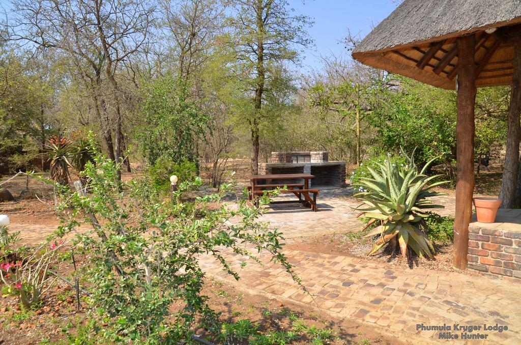 Outside area in Phumula Kruger Lodge