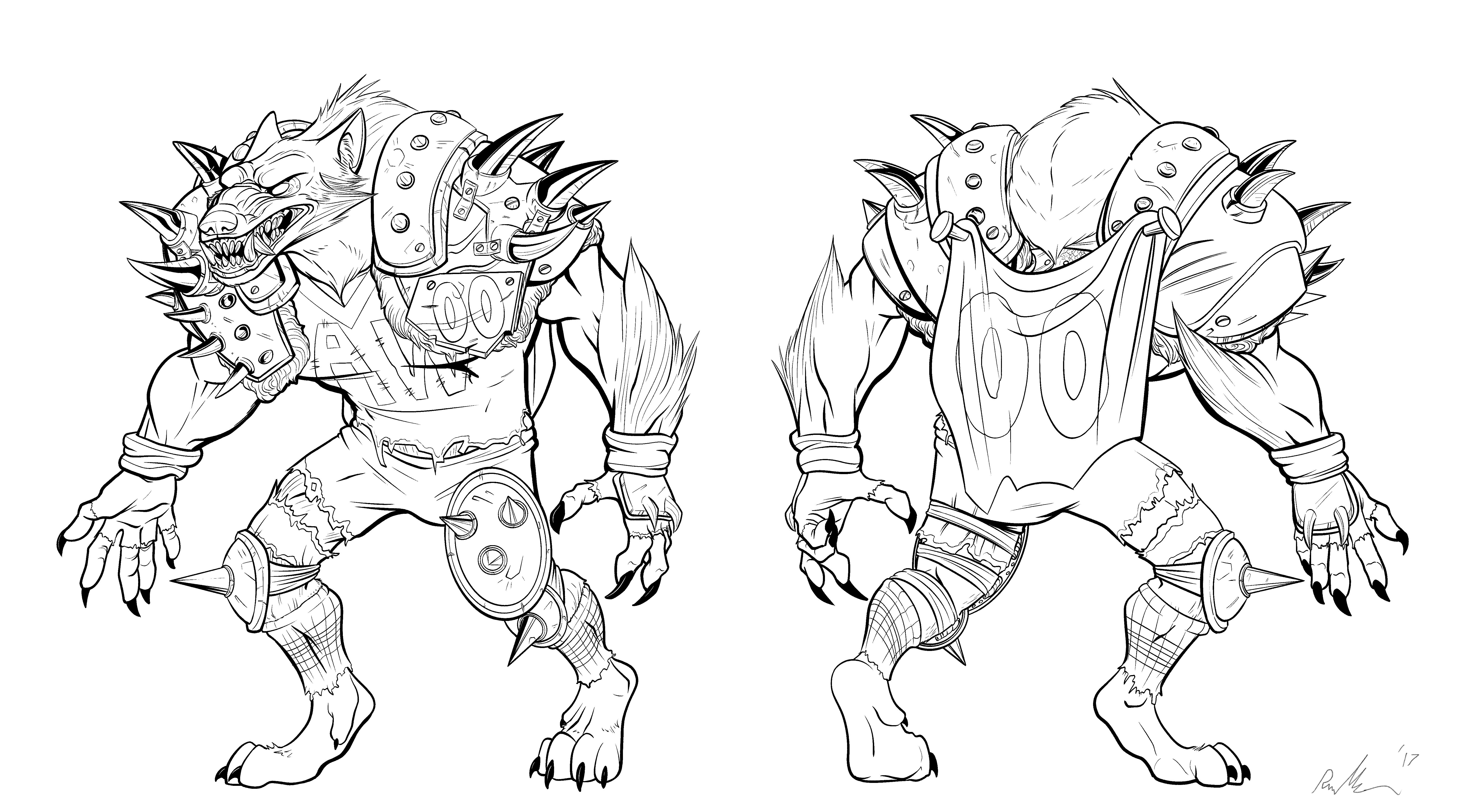 MFL Werewolf Concept