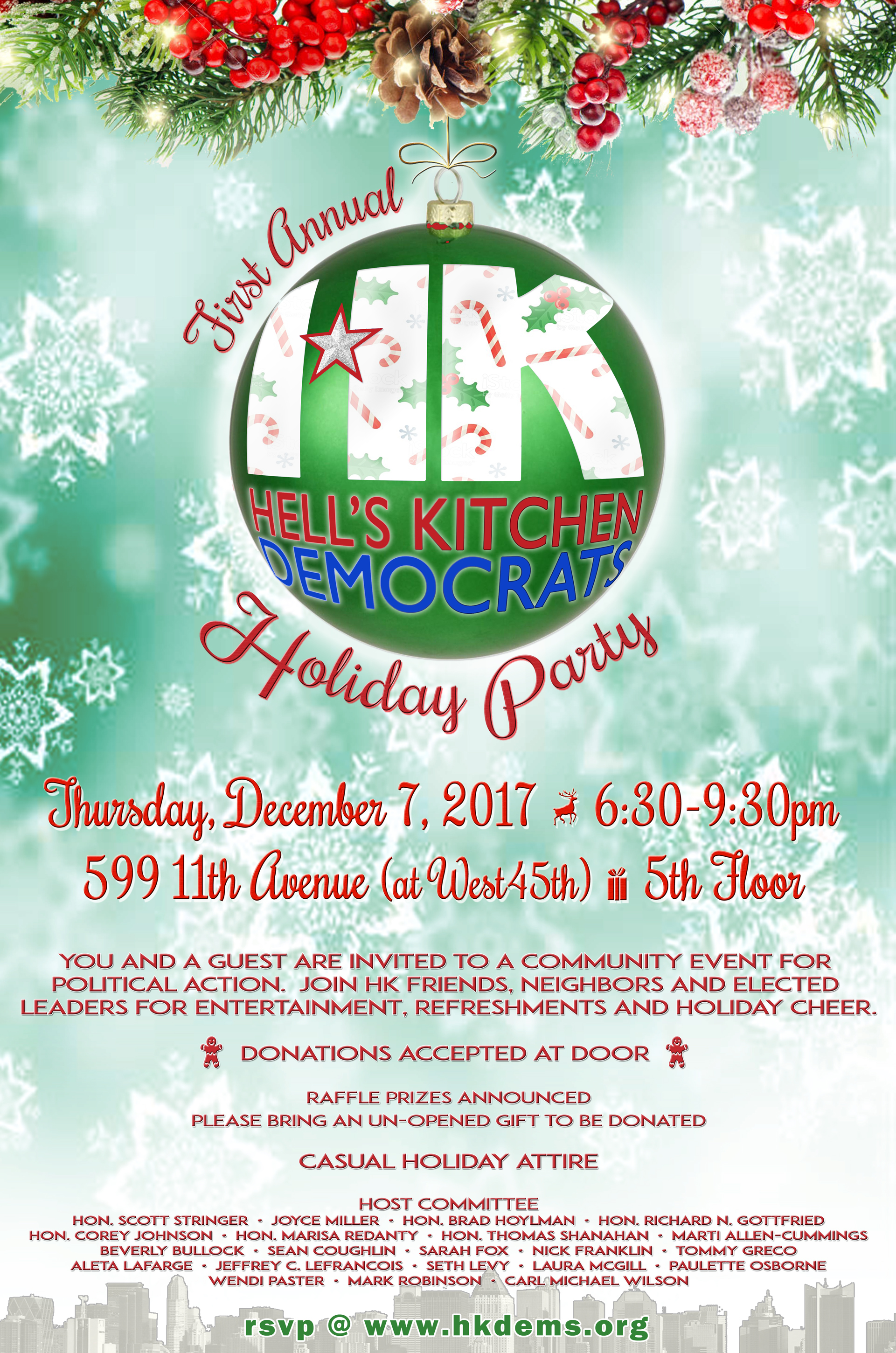 Holiday Party Invite - 6 50pct