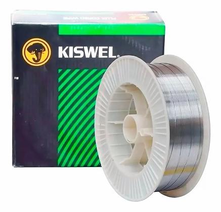 Alambre Flux Kiswel Soldar Sin Gas Rollo X 4.5 Kg 0,9 Mm
