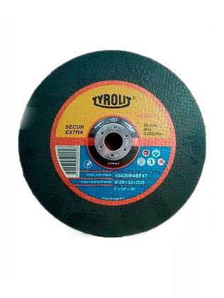 Disco Tyrolit 230x3.2x22.2 10a 30 R 4b 47