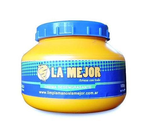 Crema Desengrasante Limpiamanos La Mejor X 500grs
