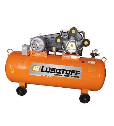 Compresor De Aire 10hp 500lts A Correa Lc-10500 Lusqtoff