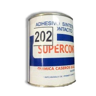 Adhesivo De Contacto 1/4 Lt Supercont