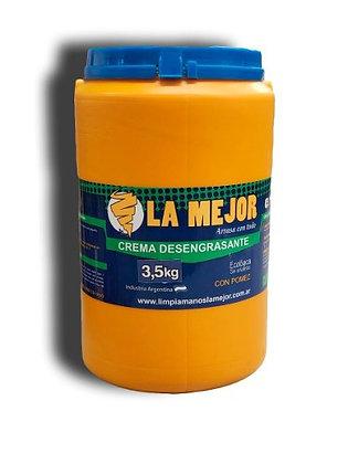 Crema Desengrasante Limpiamanos La Mejor X 3,5kg
