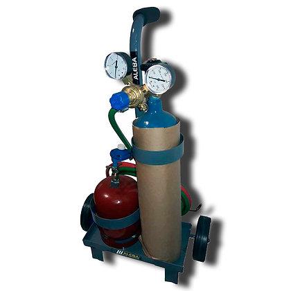 Equipo Autogena Portatil Oxigas 1 Kg Aleba