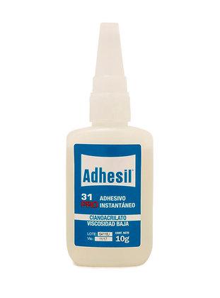 Adhesivo Instantaneo Gotita Adhesil 31 X 10 Grs