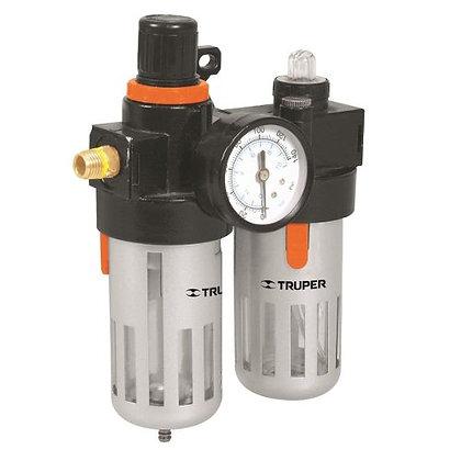 Filtro De Agua Y Lubricador 1/4 Truper