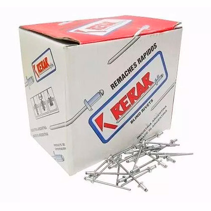 Caja Remache 5.0 X 30mm X 500un Carrocero