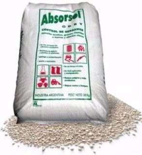 Absorvente Mineral Industrial X 25 Kg