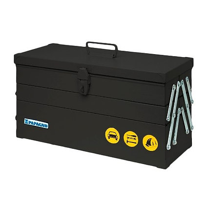 Caja De Herramientas Fuelle Papagno N70(500x270x200) Negra