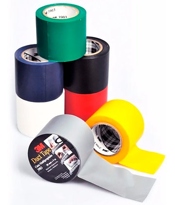 Cinta Ductape Multiproposito 3m 9 Mts X 48mm Gris